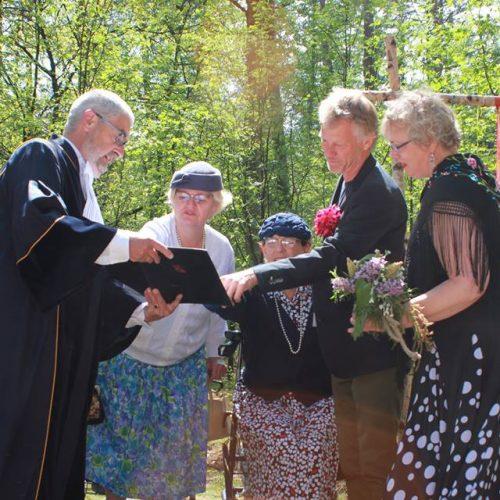 Trouwen in het bos - bruidsfotografie